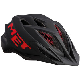 MET Crackerjack Bike Helmet Children red/black